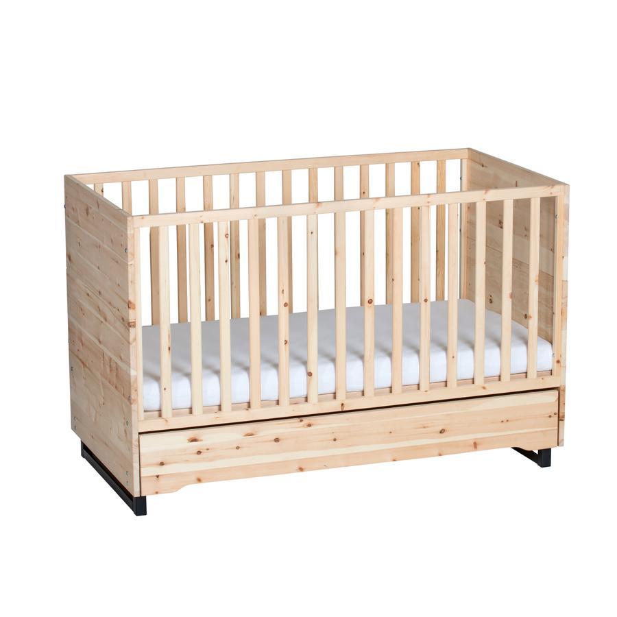 Schardt Kombi-Kinderbett Zirbe 70 x 140 cm