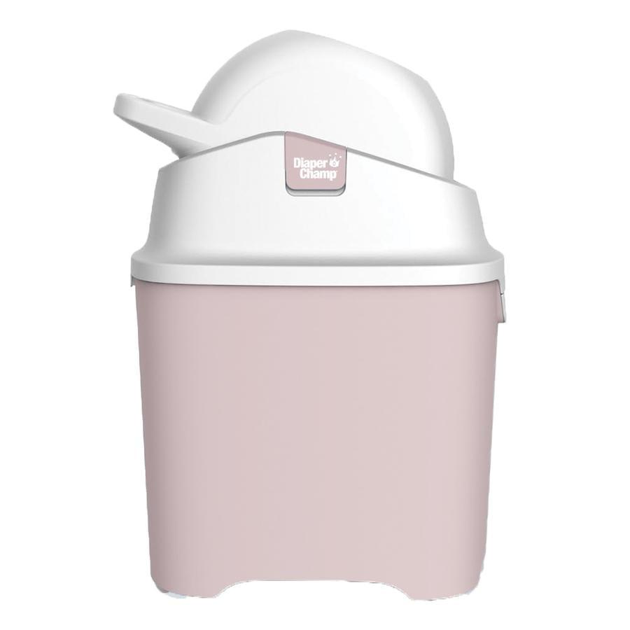 Diaper Champ One Poubelle à couches rose