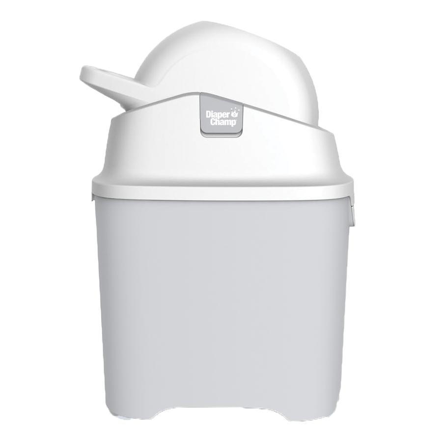 Diaper Champ One Cubo para pañales plateado
