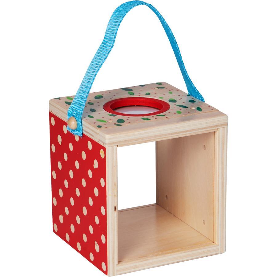 COPPENRATH Caja de madera de lupa para ver - Niños del Jardín