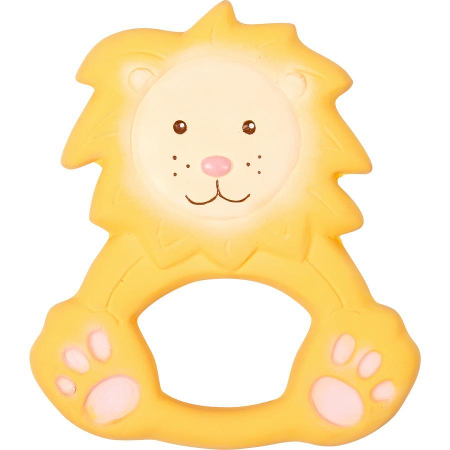SPIEGELBURG COPPENRATH Beißring aus Naturkautschuk Löwe Louis - BabyGlück