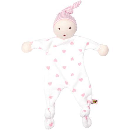 SPIEGELBURG COPPENRATH Mein erstes Schmusetuch rosa - BabyGlück