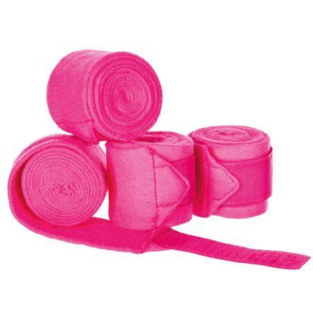Helga Kreft Bandages pour cheval de jardin enfant rose