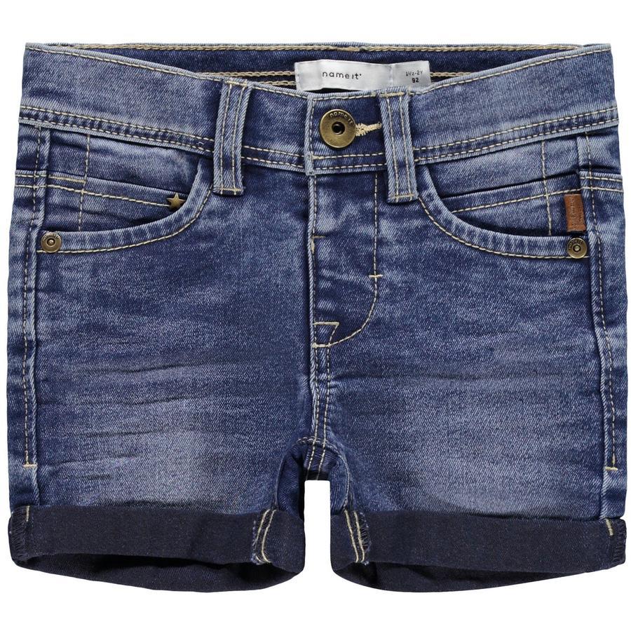 name it Shorts NMMSOFUS Medium Blauwe Denim