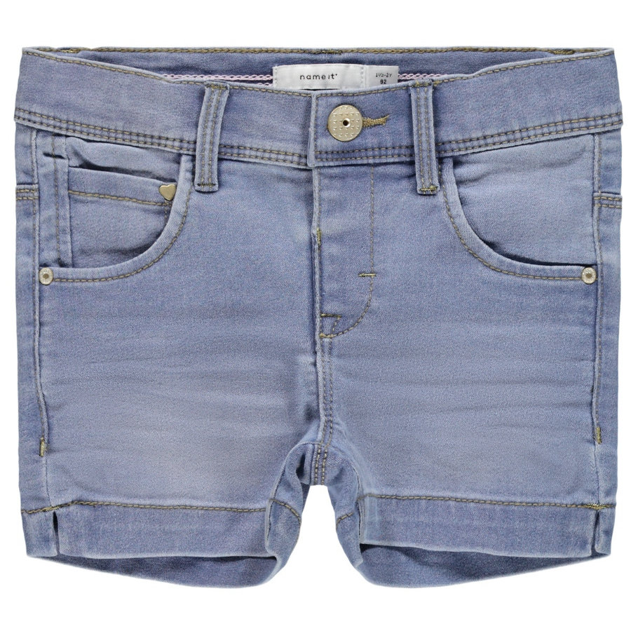 name it Shorts NMFSALLI Light Blue Denim