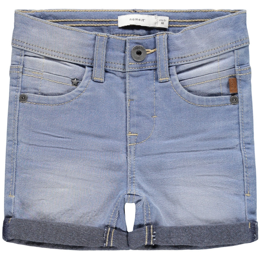 name it Shorts NMMSOFUS Light Blue Denim
