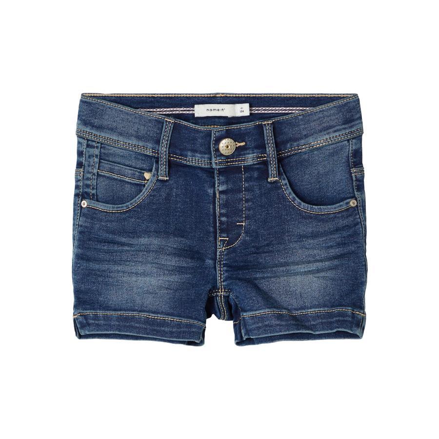 name it Shorts NMFSALLI Medium Blue Denim