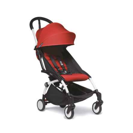 BABYZEN Kinderwagen YOYO2 6+ Wit/Rood