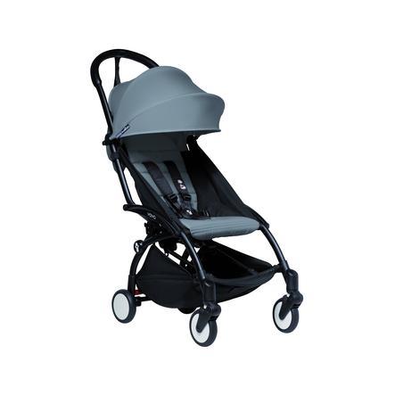 BABYZEN Kinderwagen YOYO2 6+ Black/Grey