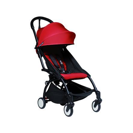 BABYZEN Kinderwagen YOYO2 6+ Black/Red