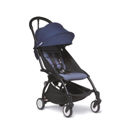 BABYZEN Kinderwagen YOYO2 6+ Black/Air France Blue