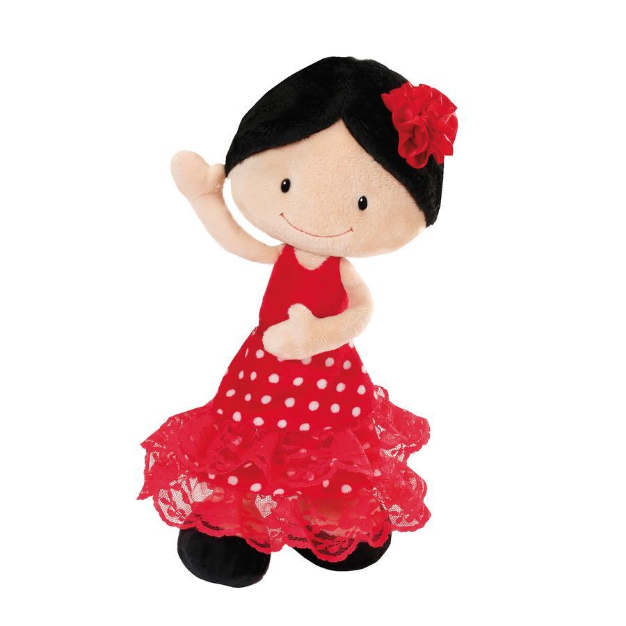 NICI Flamenco Doll Minicarms Keinuvat muhkeat, 30 cm