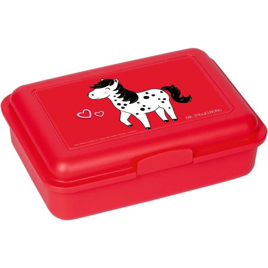 COPPENRATH Małe pudełko na lunch Dotti - Moja mała kucyczkowa farma