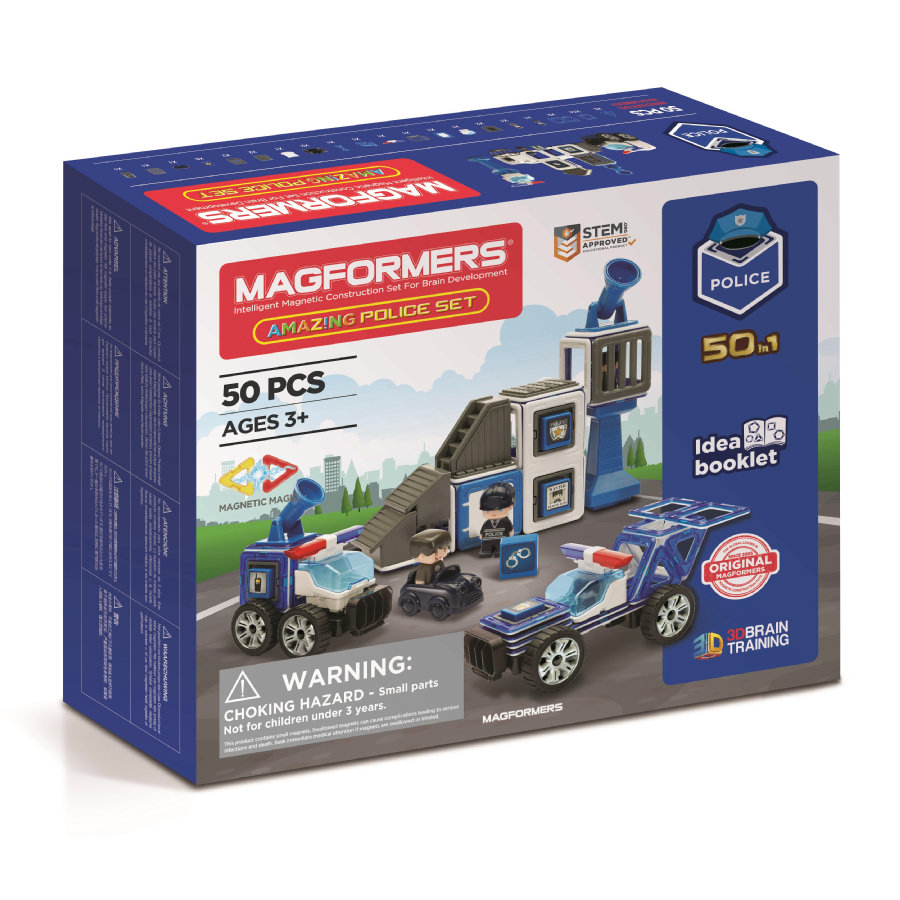 MAGFORMERS® Amazing Police Set
