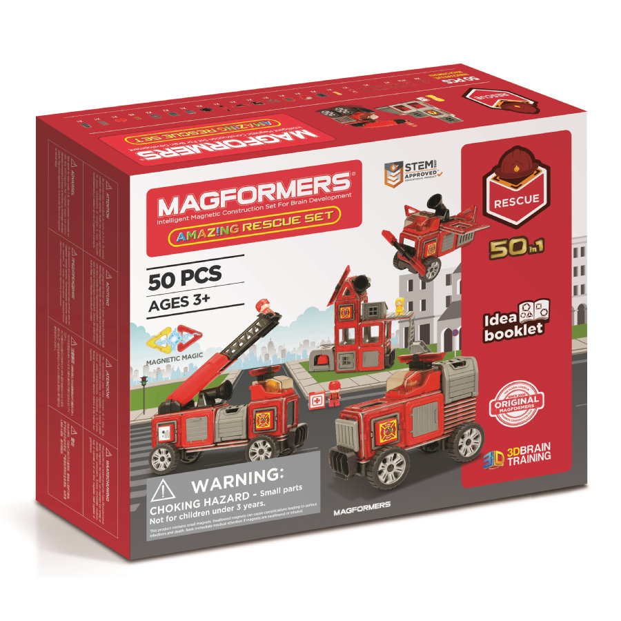 MAGFORMERS ® Amazing Rescue set