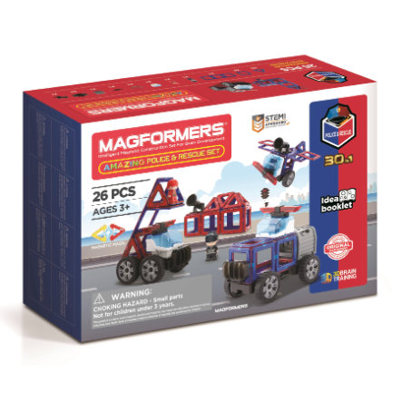 MAGFORMERS® Amazing Police & Rescue Set