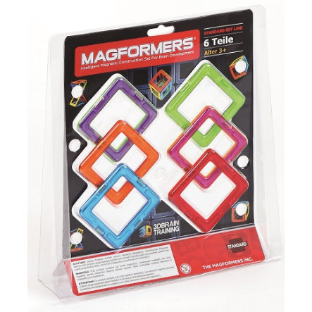 MAGFORMERS® Squares 6
