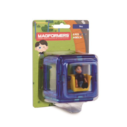 MAGFORMERS® Figure Plus Boy Set 6 Teile