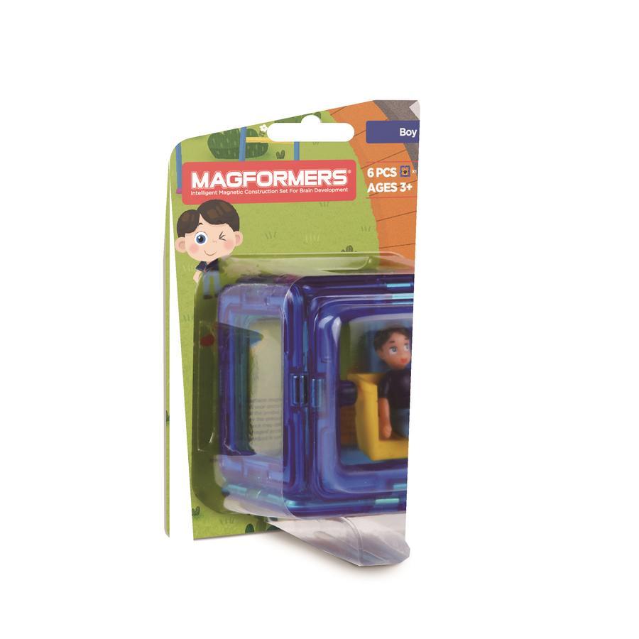MAGFORMERS® Figure Plus Boy Set 6 Delig