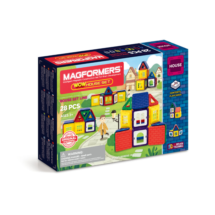 MAGFORMERS® WOW House Set 28