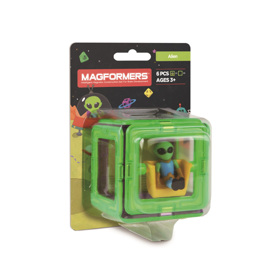MAGFORMERS® Figure Plus Alien Set