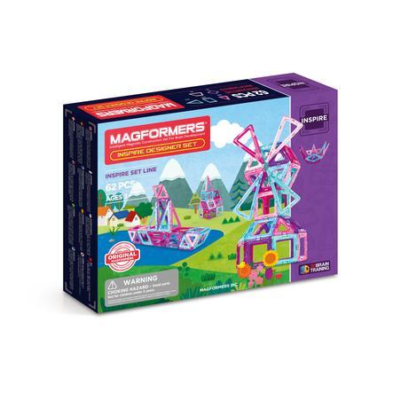 MAGFORMERS® Jeu magnétique Inspire, 62 pièces