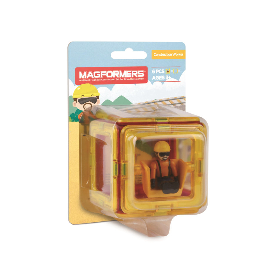 MAGFORMERS® Figure Plus Construction Set
