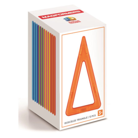 MAGFORMERS® Iso. Triangle Set 12