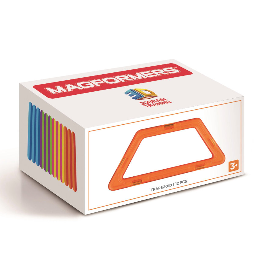 MAGFORMERS® Trapezoid 12 Teile
