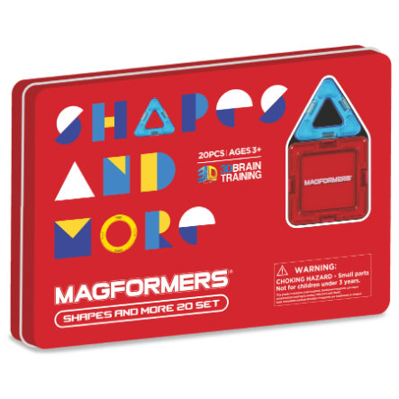 MAGFORMERS® Shapes and more 20 Teile