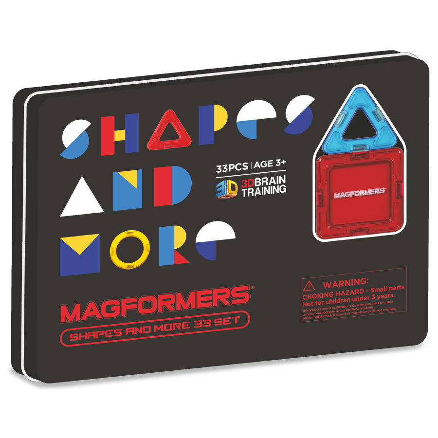 MAGFORMERS® Shapes and more 33 Teile