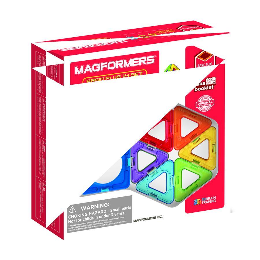 MAGFORMERS® Basic Plus 14 Set