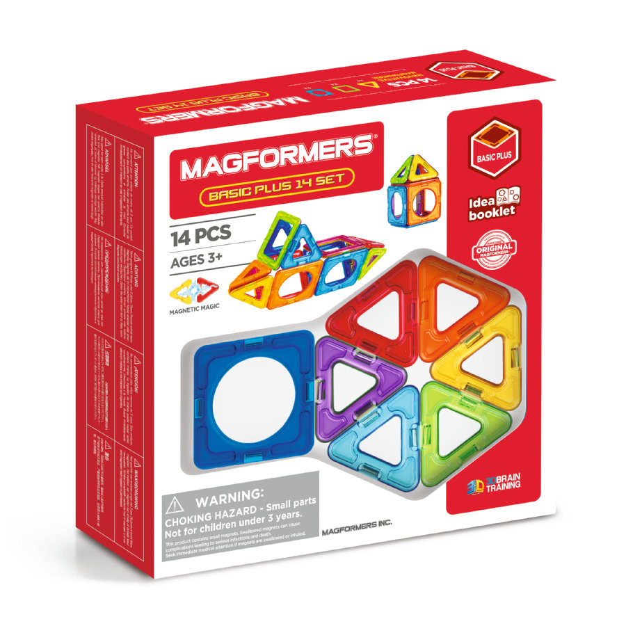 MAGFORMERS ® Basic Plus 14 sett