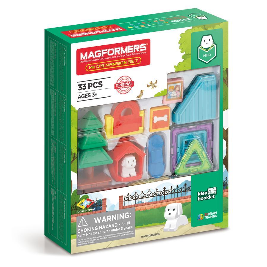 MAGFORMERS ® Milo's Mansion Set