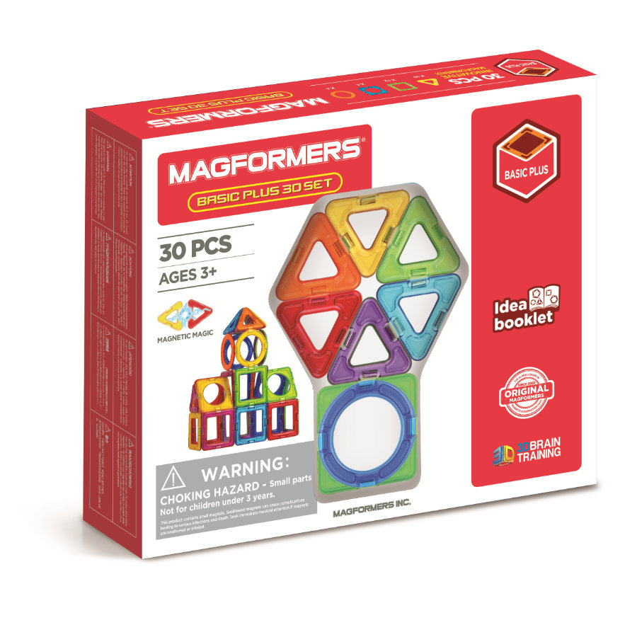 MAGFORMERS ® Basic Plus 30 Set