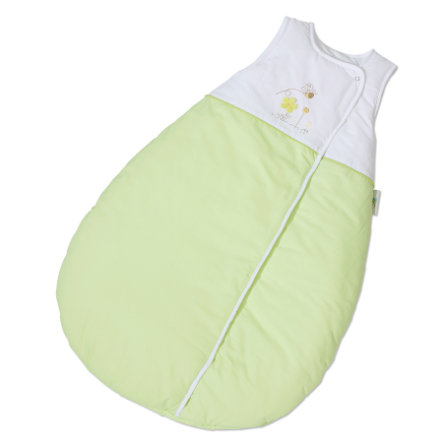 EASY BABY Gigoteuse molletonnée 90 cm Honey bear vert (451-39)