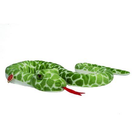 HERMANN® Teddy Peluche serpent vert, 175 cm