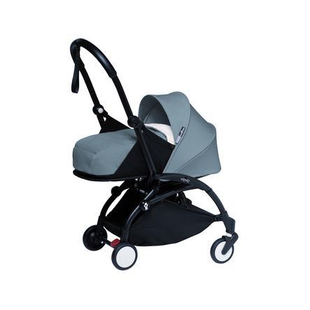 BABYZEN Kinderwagen YOYO2 0+ Black/Grey