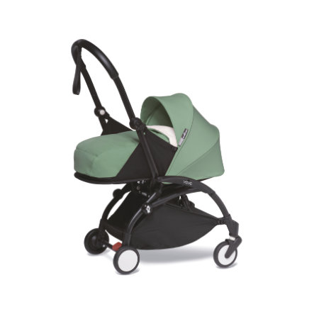 BABYZEN Kinderwagen YOYO2 0+ Black/Peppermint