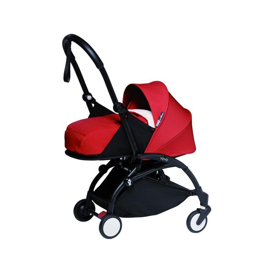 BABYZEN Kinderwagen YOYO2 0+ Black/Red