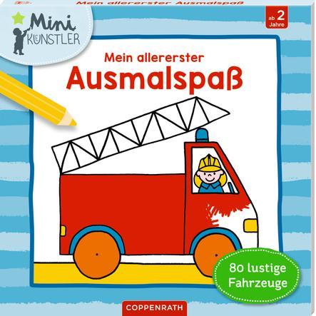 SPIEGELBURG COPPENRATH Mini-Künstler: Mein allererster Ausmalspaß: 80 lustige Fahrzeuge