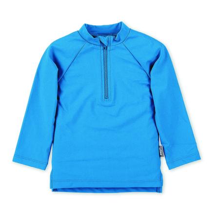 Sterntaler Camisa de baño de manga larga UV azul