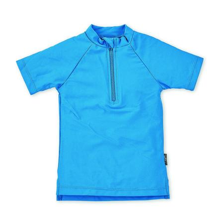 Sterntaler UV koszula kąpielowa z krótkim rękawem niebieska