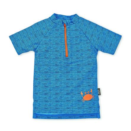 Sterntaler Maillot de bain UV à manches courtes bleu