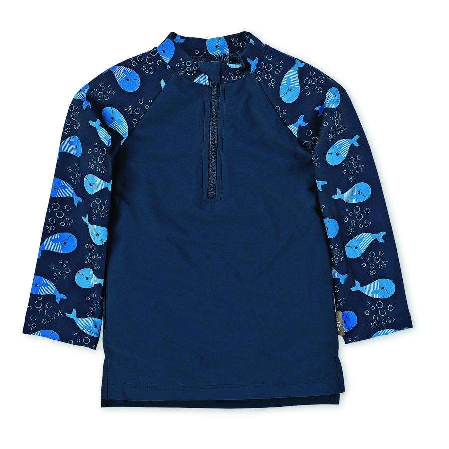 Plavecká košile Sterntaler UV s dlouhým rukávem námořní