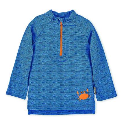 Plavecká košile Sterntaler UV s dlouhým rukávem modrá