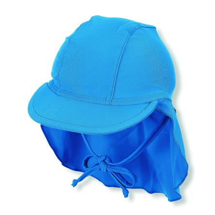 Sterntaler tappo a punta con protezione per il collo blu