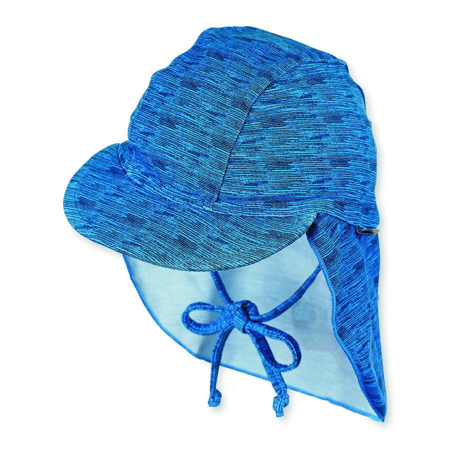 Sterntaler Peaked cap stars blue