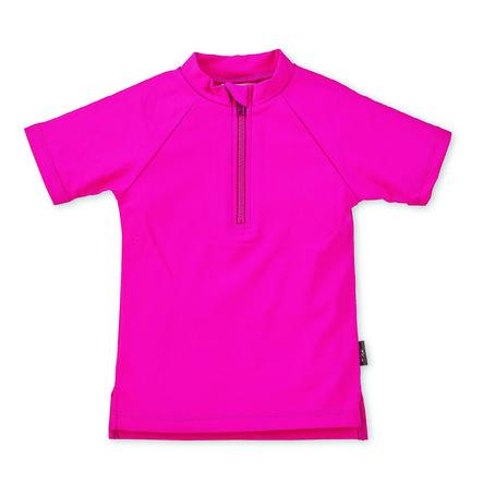 Sterntaler Camisa de baño de manga corta UV magenta