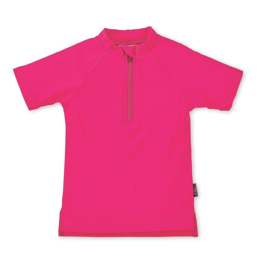 Sterntaler Camicia da bagno manica corta UV magenta